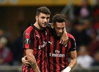 Milan 3-1 Olympiakos (4 Ekim 2018 UEFA Avrupa Ligi maçı)