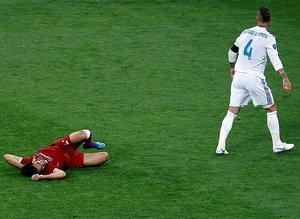 İşte Salah'ın sakatlandığı pozisyon!