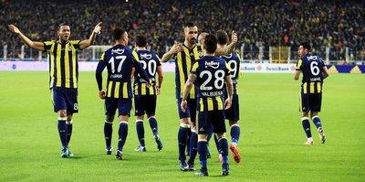 Fenerbahçe 2. sıraya yükseldi