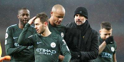 Manchester City deplasmanda Arsenal'i yendi