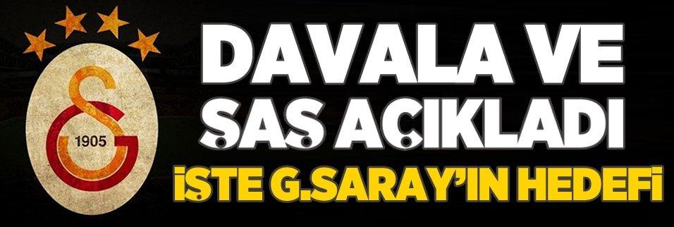 İşte Galatasaray'ın hedefi
