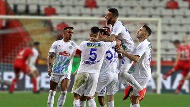 Antalyaspor-Çaykur Rizespor: 2-3 (MAÇ SONUCU-ÖZET)