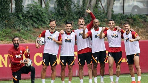 Son dakika GS haberleri | Galatasaray'da Radamel Falcao şoku! Antrenmana katılmadı
