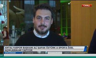 Ali Şafak Öztürk: Kulüpler Birliği açıklamasına onay verirken içeriği tam bilmiyorduk