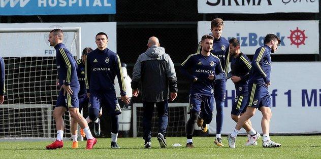 Fenerbahçe'de Aytemiz Alanyaspor mesaisi başladı