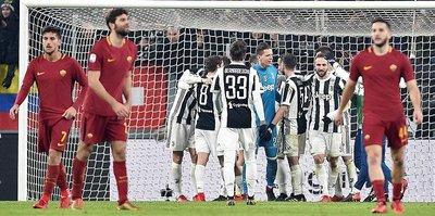 Juventus, Roma engelini tek golle geçti