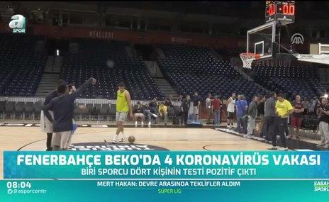 Fenerbahçe Beko'da 4 koronavirüs vakası
