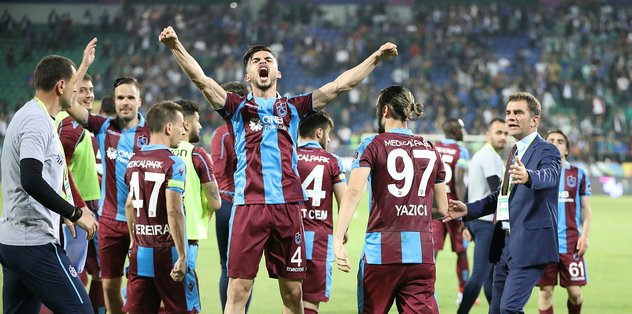 Trabzonspor, son 8 sezonun en iyi puanıyla bitirdi