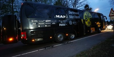 B. Dortmund bus hit by blast