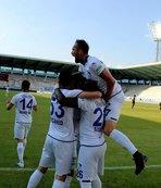 Süper Lig'e ikinci bilet Erzurumspor'un!