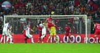 Türkiye - İzlanda maçından kareler