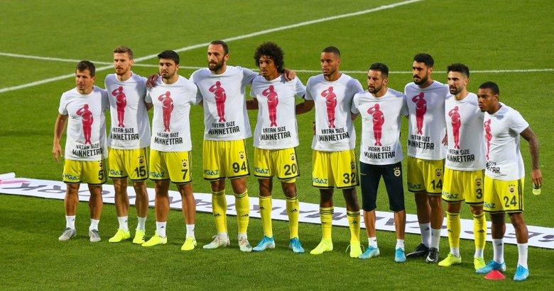 Fenerbahçe'den Mehmetçiklere destek! Vatan size minnettar