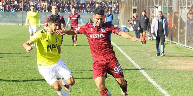 Trabzonspor Fenerbahçe gençler derbisinde kazanan Fırtına!