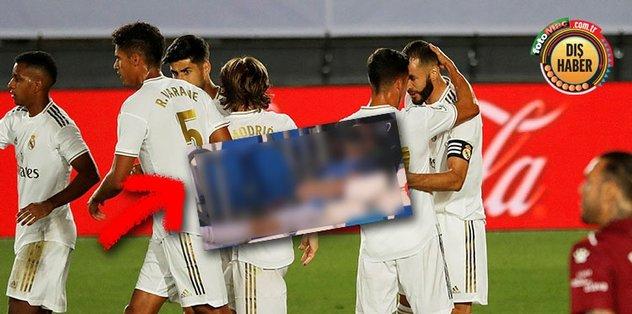 Real Madrid maçına damga vuran kare! Gareth Bale tribünde uyudu - Futbol -