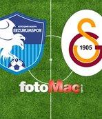 Erzurumspor - Galatasaray maçı ne zaman saat kaçta ve hangi kanalda?