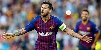 Avrupa'nın en iyisi Messi!