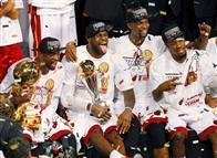 Miami Heat'in şampiyonluk kareleri