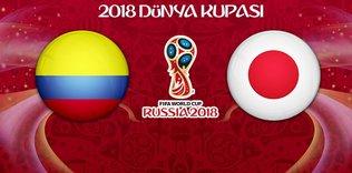 Kolombiya - Japonya maçı ne zaman saat kaçta ve hangi kanalda?