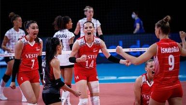 Türkiye - Çin: 3-0   MAÇ SONUCU ÖZET