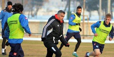 Erzurumspor, Ankaragücü maçı hazırlıklarına başladı