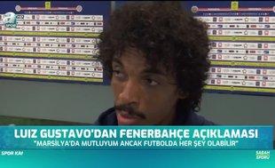 Luiz Gustavo'dan Fenerbahçe açıklaması