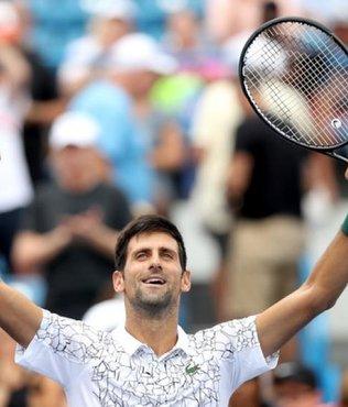 Novak Djokovic'ten tarihi zafer!