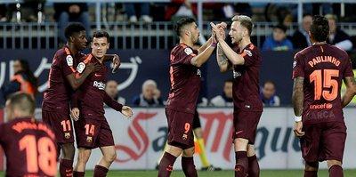 Barcelona deplasmanda kazandı