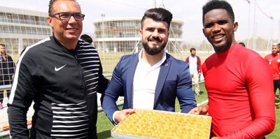 Antalyaspor'a baklava dopingi