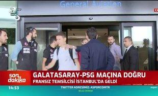 PSG kafilesi İstanbul'a geldi! İşte ilk görüntüler