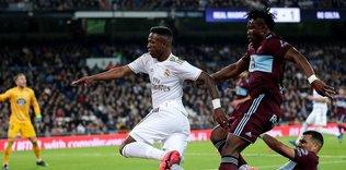 Real Madrid'e Celta Vigo çelmesi!
