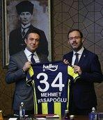 Fenerbahçeli yöneticilerden bakanlık ziyaretleri