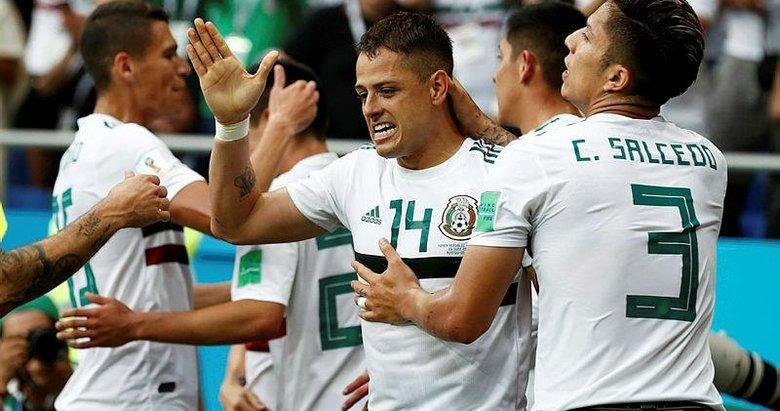 Meksika dalgası Güney Kore'yi vurdu! Güney Kore 1-2 Meksika (Maç sonucu)