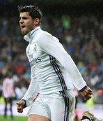 Madrid'i galibiyete Morata taşıdı