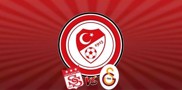 Galatasaray'dan Sivasspor maçı öncesi TFF'ye başvuru!