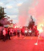 Trabzonspor'a müthiş uğurlama