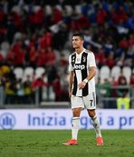 Ronaldo'nun golü, Juventus'a yetmedi