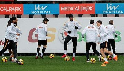 Galatasarayda derbi hazırlıkları başladı
