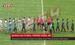 Amedspor-Sakaryaspor maçında olay: Sahaya kesici aletle çıktı