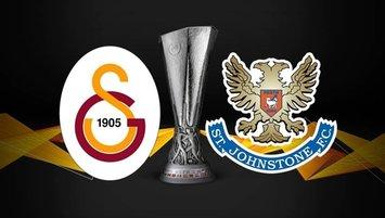 Galatasaray St. Johnstone maçı saat kaçta hangi kanalda CANLI yayınlanacak?