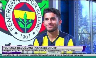 Murat Sağlam: F.Bahçe'de olduğuma inanamıyorum
