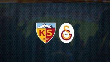 Kayserispor - Galatasaray maçı CANLI   GS maçı izle   Kayseri Gs canlı skor