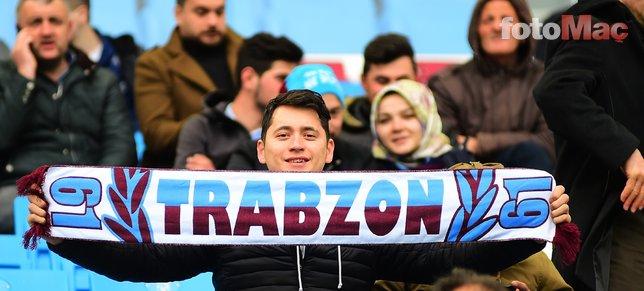 Trabzonspor - Yeni Malatyaspor maçından kareler