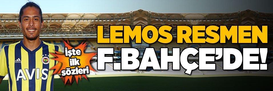 fenerbahce lemos transferini acikladi 1598441658498 - Fenerbahçe'den resmi transfer teklifi! Nikola Kalinic...
