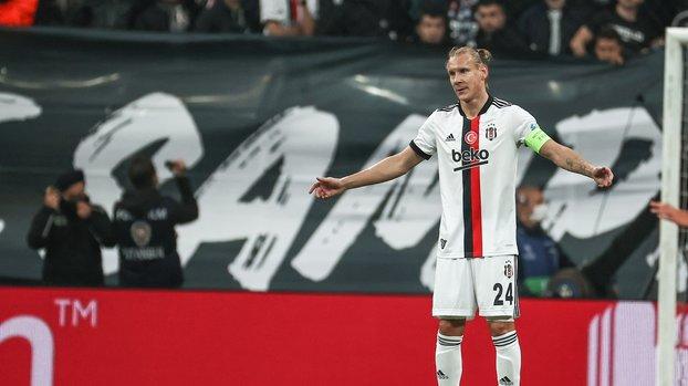Beşiktaş Sporting Lizbon maçında penaltı kararı! İşte o pozisyon