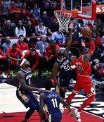 Pelicans uzatmada kazandı