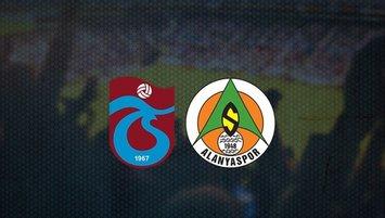 Trabzonspor Alanyaspor maçı saat kaçta hangi kanalda?