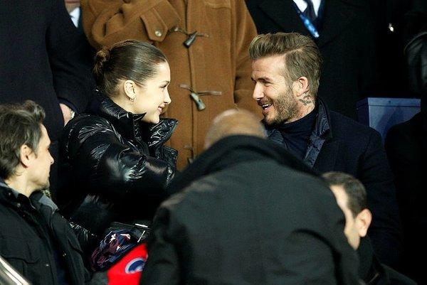 Ünlü model Beckham'ın aklını aldı!