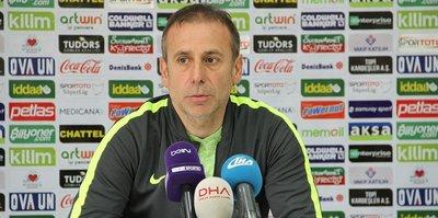"""""""Kendi oyuncumuz attığı golle yenildik"""""""