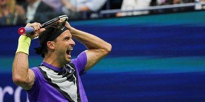 Grigor Dimitrov Federer'i eledi