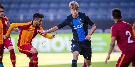 Galatasaray U19 Club Brugge kaybetti! İşte maç özeti...